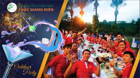Outdoor party - Giang Dien Park